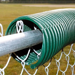 Poly Cap Fence Guard 100' Green