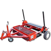 Dirt Doctor 4 Infield Groomer 3pt Hitch