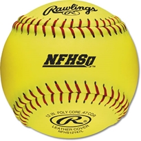 "Rawlings 12"" NFHS Fastpitch Softball"