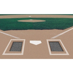Batter's Box Foundation Rubber