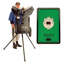 Triple Play Pitching Machine (baseball)