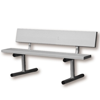 4 Court Bench-Aluminum