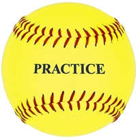 "11"" Yellow Practice Softball"