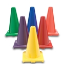 "COLOR MY CLASS 12"" CONES SET OF 6"