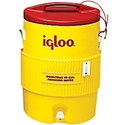 IGLOO COOLER - Red and Yellow