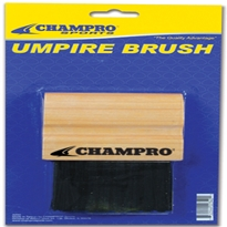 Wood Handle Umpire Brush