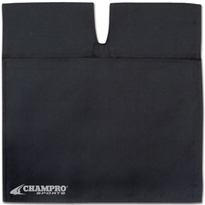 Professional Umpire Ball Bag. Colors: Black