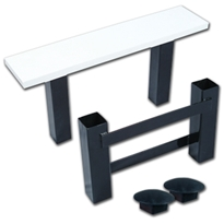 Pro Style Heavy-Duty All Rubber Base Set