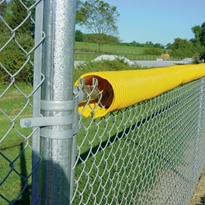 Fence Crown 250 Bright Yellow