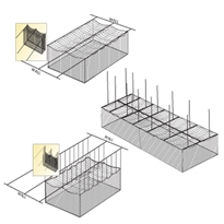 CeilingNet Suspension Kit