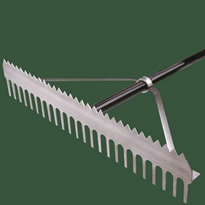 Double Play Rake 24""