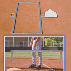Foldable 4' x 6' Batter's Box Template