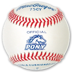 #75CY Official Pony League Baseball