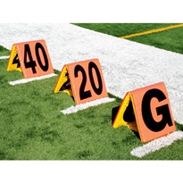 Reversiable Sideline Markers