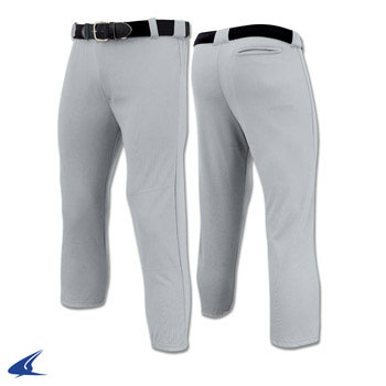 Performance Pull-Up Pant With Belt Loops - Youth Pull Up Baseball Pant, Baseball Pants, Baseball Uniforms