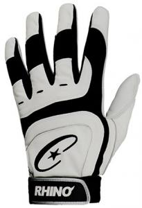 Rhino Max Pro Grip Batting Glove - Adult (Pair) Batting Gloves
