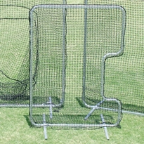 C-Shaped Softball Pitcher Protector Softball Screen, C-Shaped Pitcher Protector, Softball Pitching Protector, Softball Practice Screen