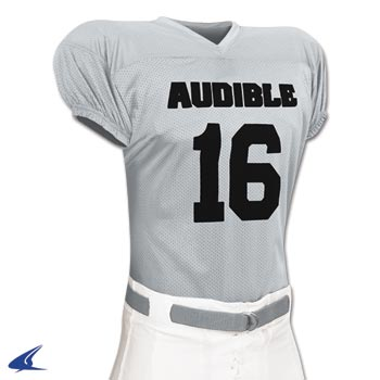 Audible Football Game Jersey - Adult Football Jersey, Football Uniform, Polyester Football Jersey, Champro Football Jersey