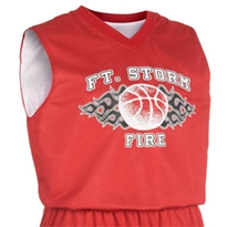 Fadeaway Reversible Jersey - Youth Basketball Jersey, Reversible Basketball Jersey, Youth Basketball Jersey