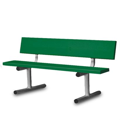 4' Court Bench-Forest Green