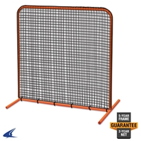 Brute Field Batting Cage Screen - 7 x 7 Batting Cage Screen, Batting Practice Screen, 7 x 7 Screen, Portable Backstop