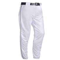 Piped Polyester Pant - Adult Baseball Pants, Polyester Baseball Pants, Piped Baseball Pants