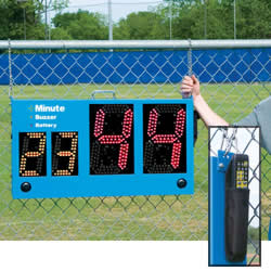 Pro Down Segment Timer With Wireless Remote Segment Timer, Wireless Remote, Football Timer