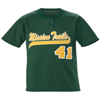 Youth Slugger Solid Two Button Jersey Baseball,Jersey