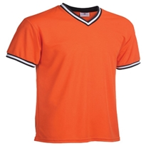 Major Team Colors V-Neck - Adult Baseball Jersey, V Neck Jersey, Baseball Uniform