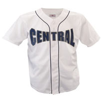 Warning Track Piped Full Button Jersey - Adult Baseball Jerseys, Baseball Uniforms, Full Button Baseball Jersey