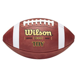 Wilson TDY Leather Football