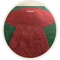 Big Brown Mound Convertible Pitching Mound, Baseball Mound, Softball Mound, Flexible Pitching Mound, Portable Pitching Mound, Turf Pitching Mound